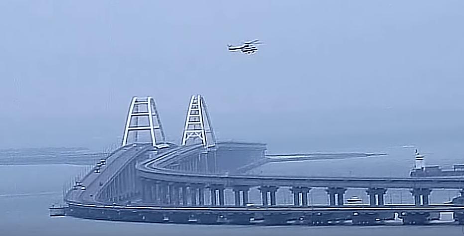Владимир Путин откроет железнодорожное движение по Крымскому мосту