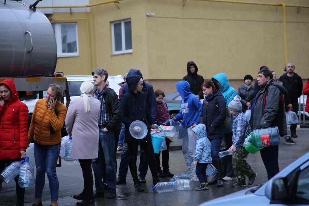 Сразу после отмены карантина в Новороссийске ограничат подачу холодной воды