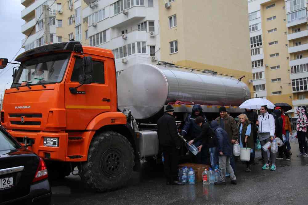 В Новороссийске водоснабжение почти восстановлено