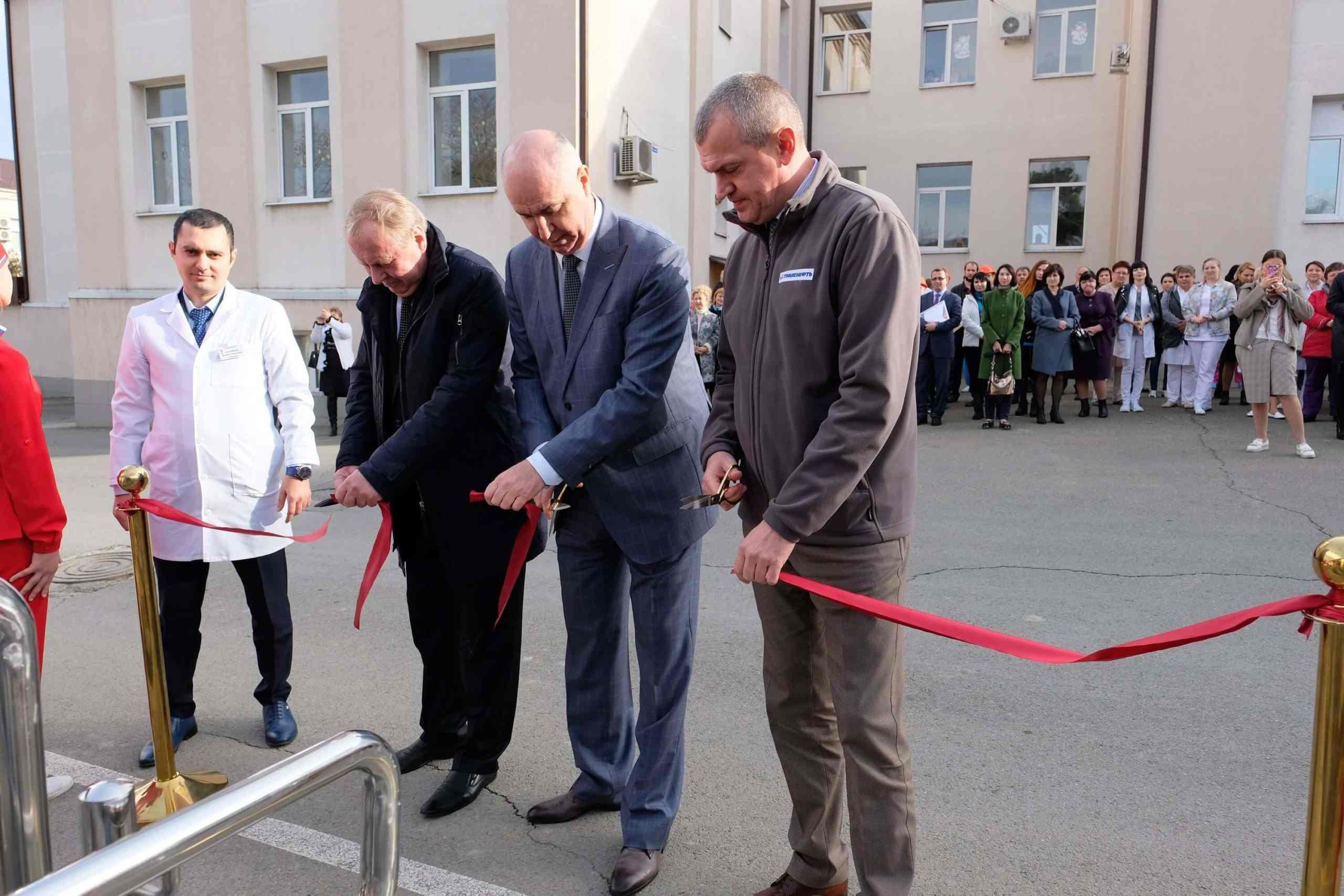 В Новороссийске появился первый муниципальный аппарат МРТ