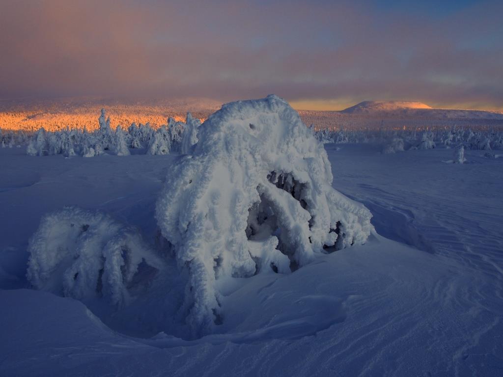 Новороссийский фотограф отправился искать зиму