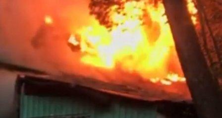 В Новороссийске в первые сутки года произошло четыре пожара