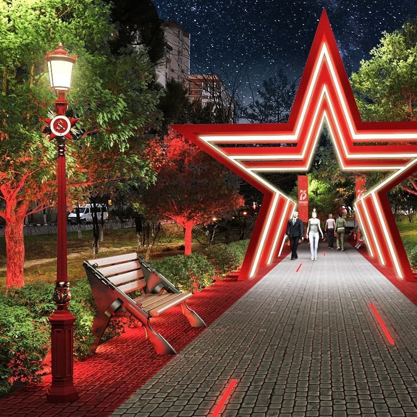 Сквер к 75-летию Победы скоро появится в Новороссийске