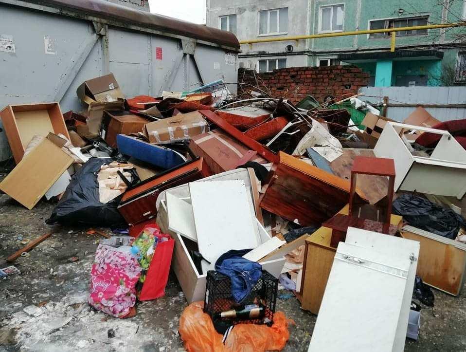 В Новороссийске будет ликвидирована стихийная свалка. Может быть, через месяц