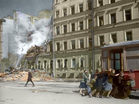 Живые новороссийцы-блокадники мечтают вернуться в Ленинград