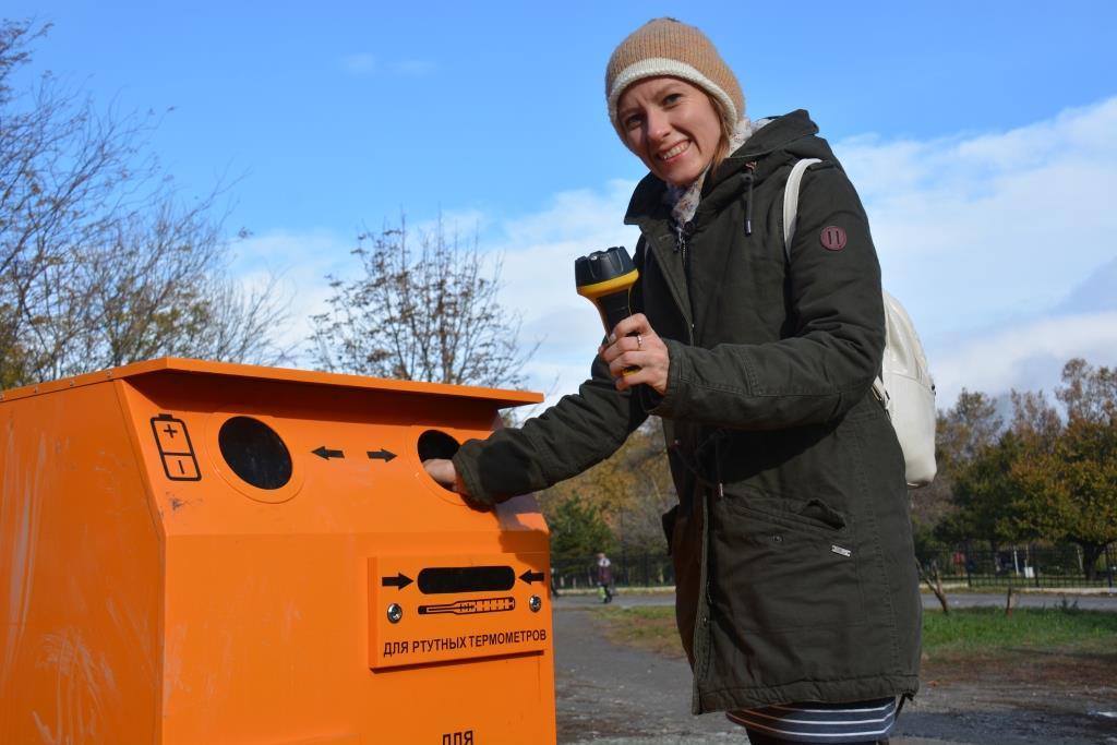 У Новороссийска лучший в крае опыт по сбору опасных отходов
