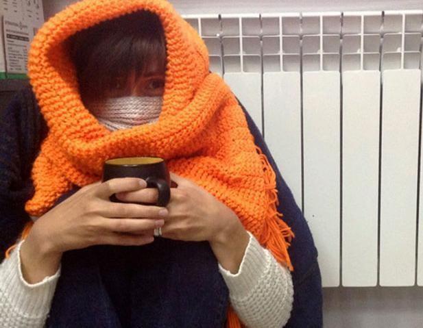 Новороссийцы замерзают в своих квартирах