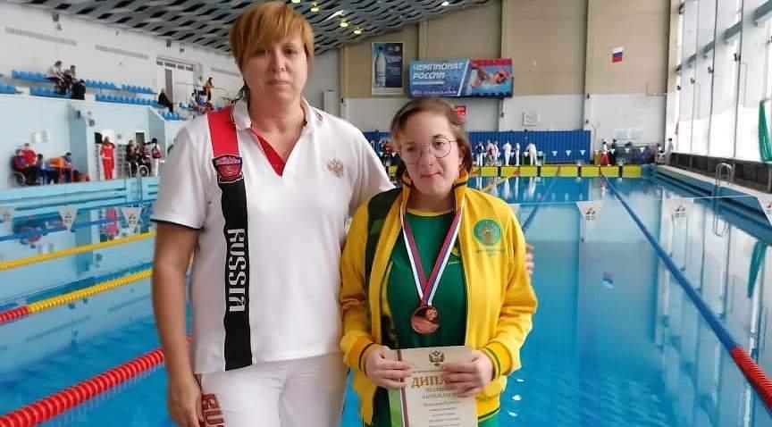 У новороссийской пловчихи бронза чемпионата России