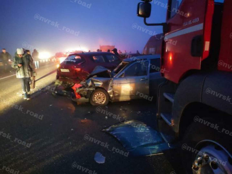 Массовая авария вАдыгее: 20машин, двое погибших, неменее десятка пострадавших, многокилометровая пробка