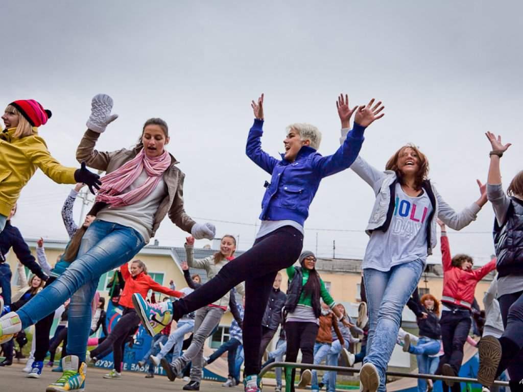 Через несколько часов вновороссийском парке начнется танцевальный флешмоб