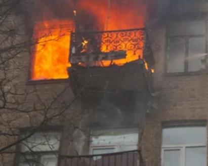 В Новороссийске при пожаре задохнулась пенсионерка