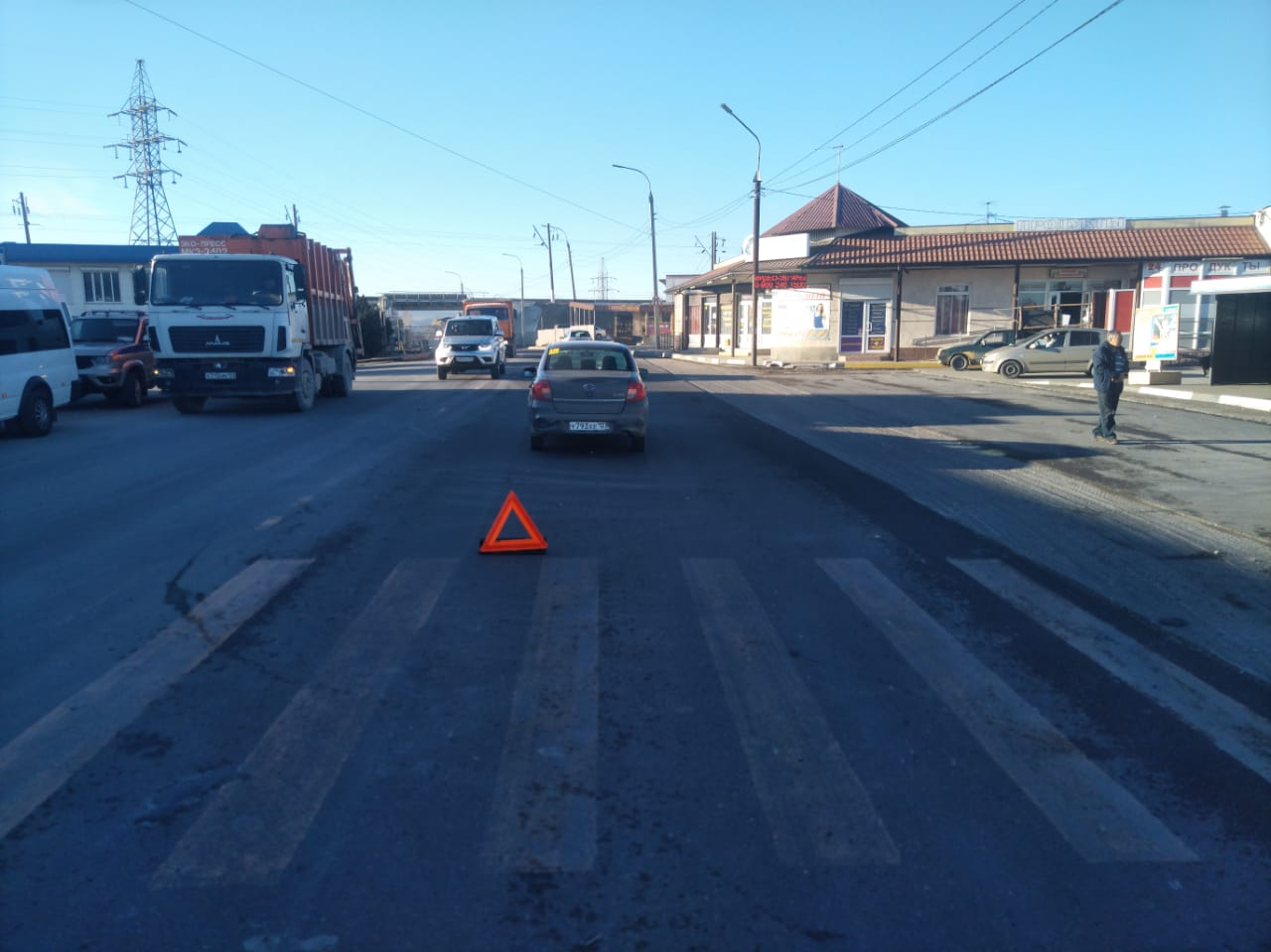 Впервый день после каникул вНовороссийске сбили школьника