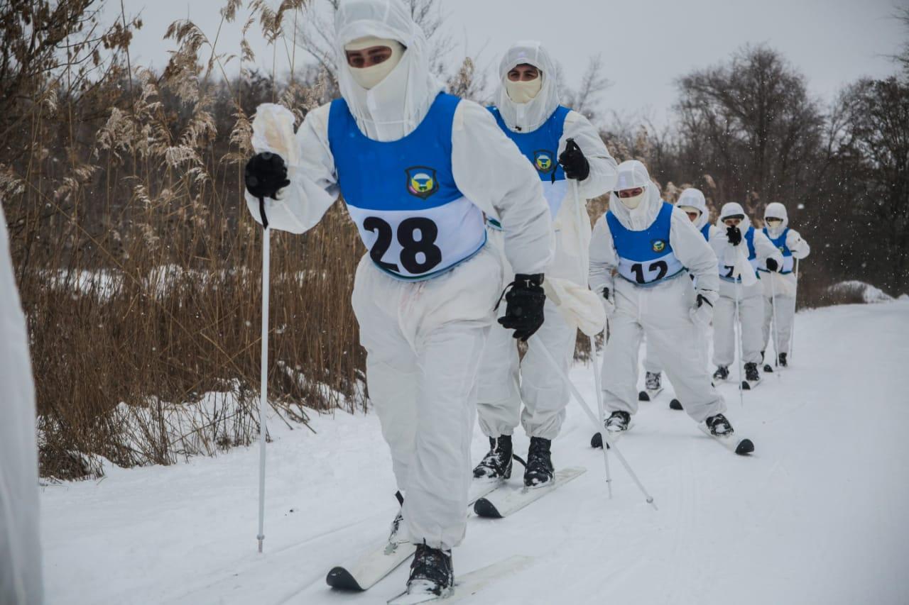 Десантники из Новороссийска отправились в лыжный поход