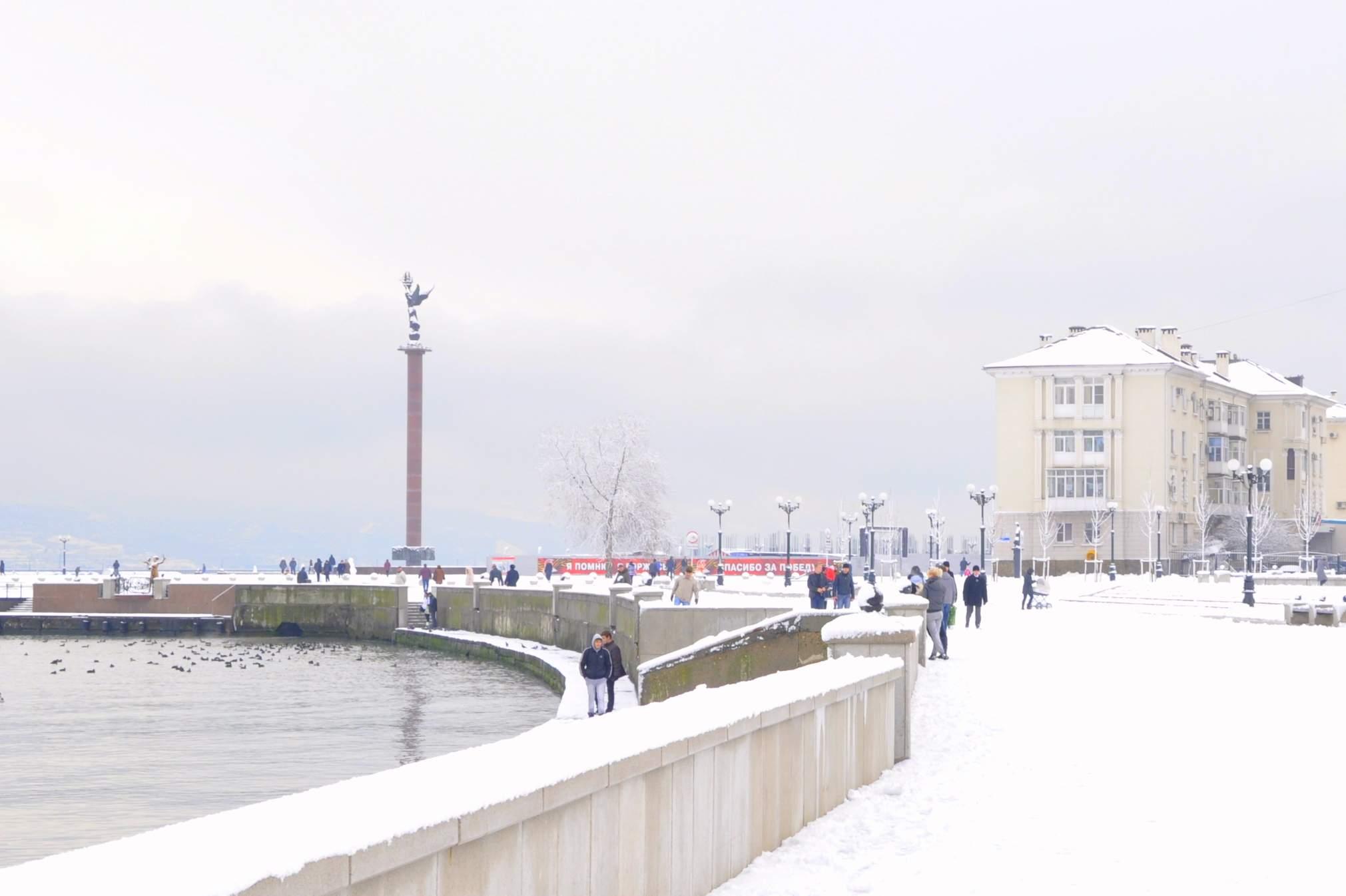 Новороссийск ждут первые морозы