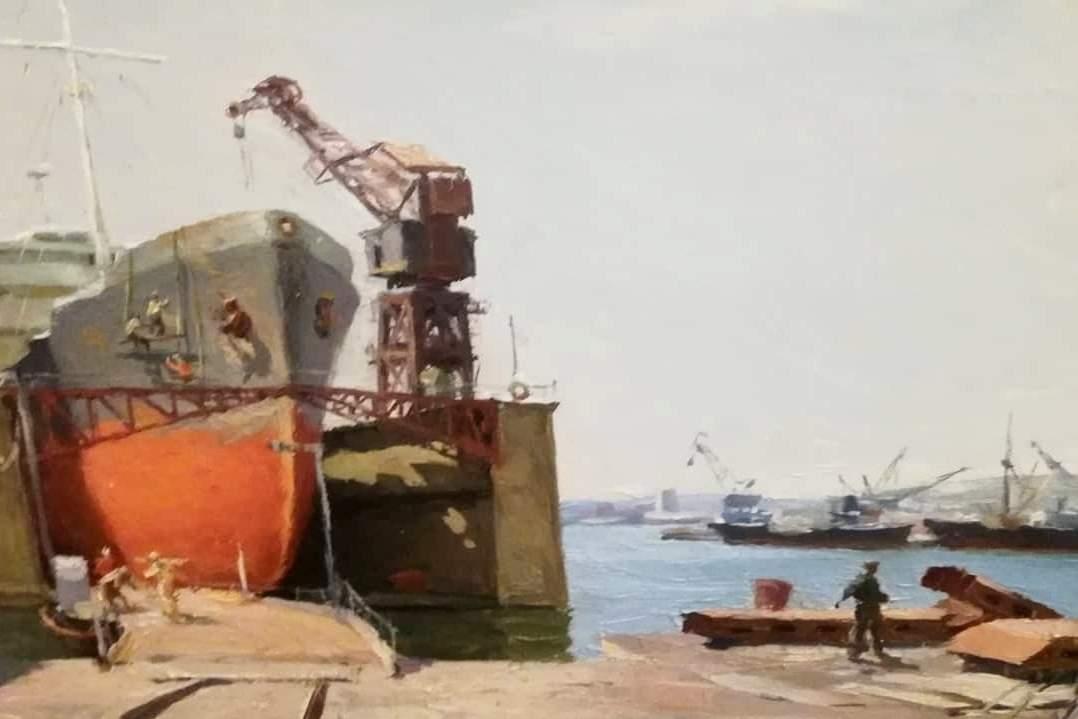 ВНовороссийске открылась выставка художника-соцреалиста