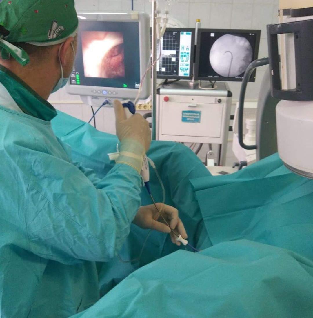 ВНовороссийске нановом оборудовании урологи провели первую вкрае операцию напочках