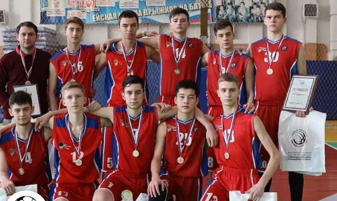 Новороссийские баскетболисты победили на краевом первенстве