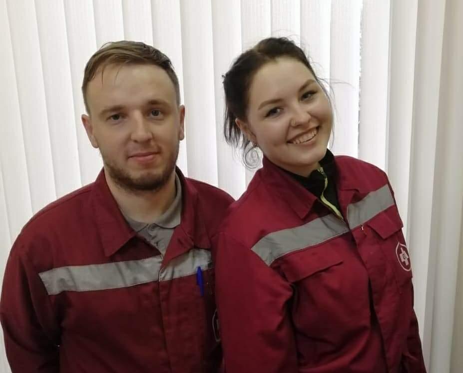 Анна Лисицина и Валерий Сороченко — фельдшеры скорой помощи Новороссийска