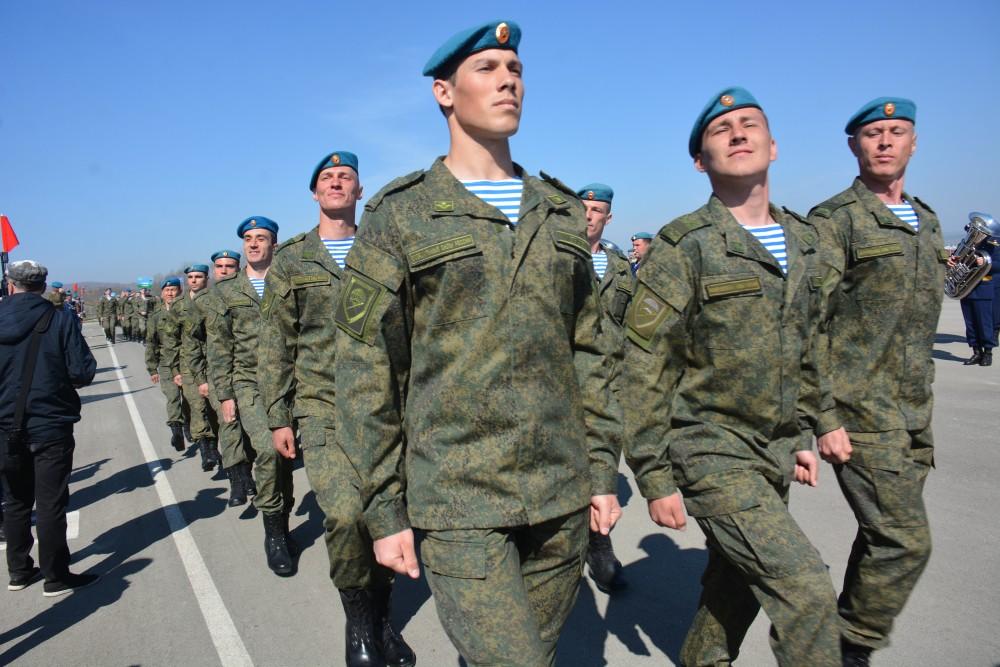 Новороссийские бойцы «крылатой пехоты» отправились в дальний поход