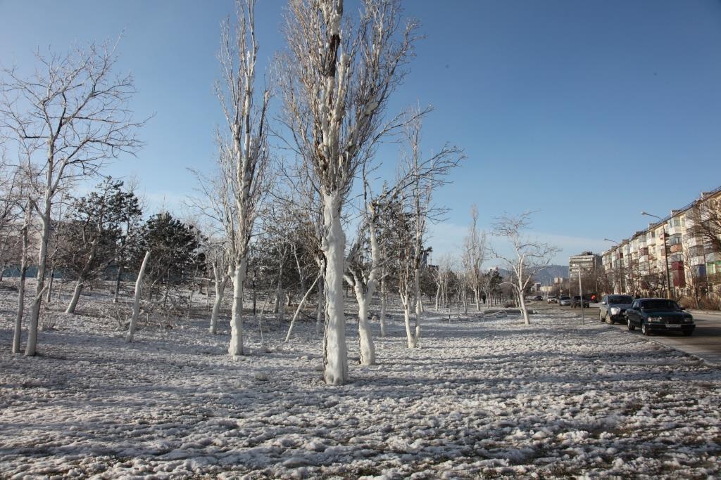 Сегодня ночью в Новороссийск ворвется зима