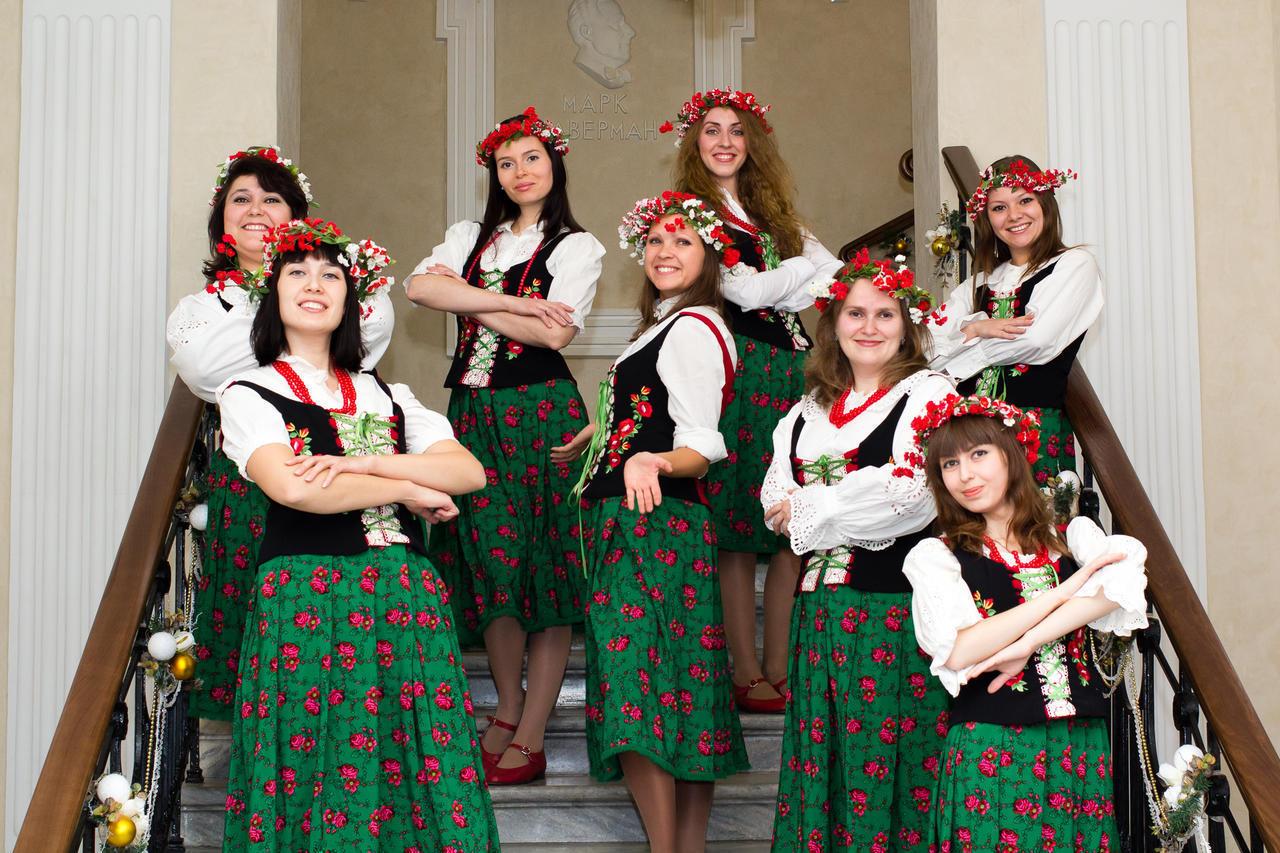 В Новороссийск приедет польский ансамбль