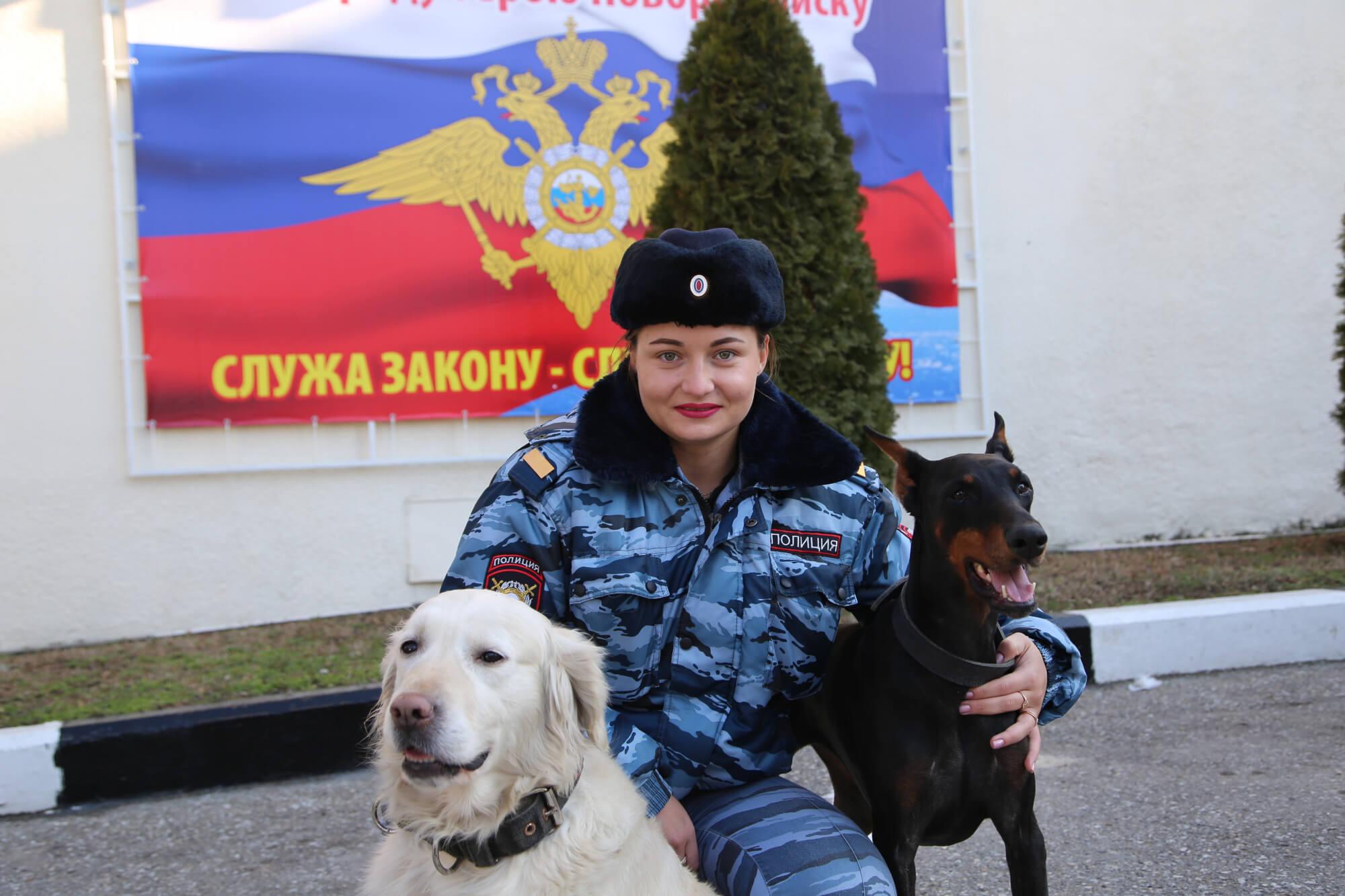 На службе в полиции в Новороссийске скучать не приходится