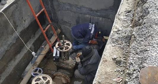 В Новороссийске заменили водопровод на улице Чкалова