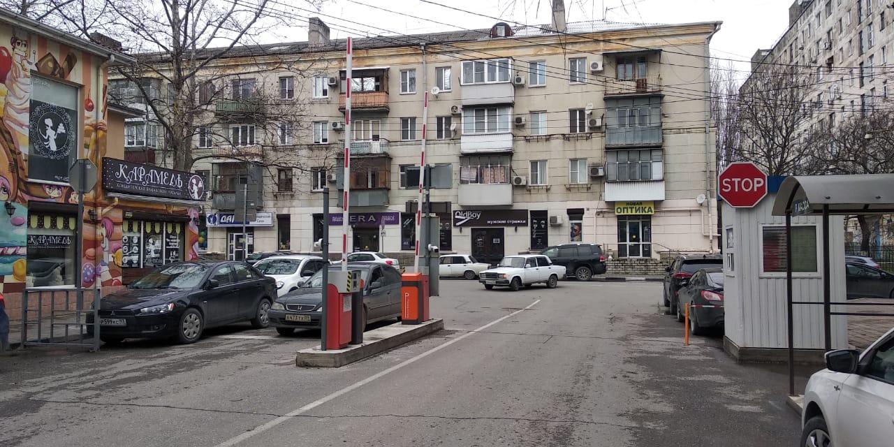 Платная парковка вНовороссийске нестала популярной