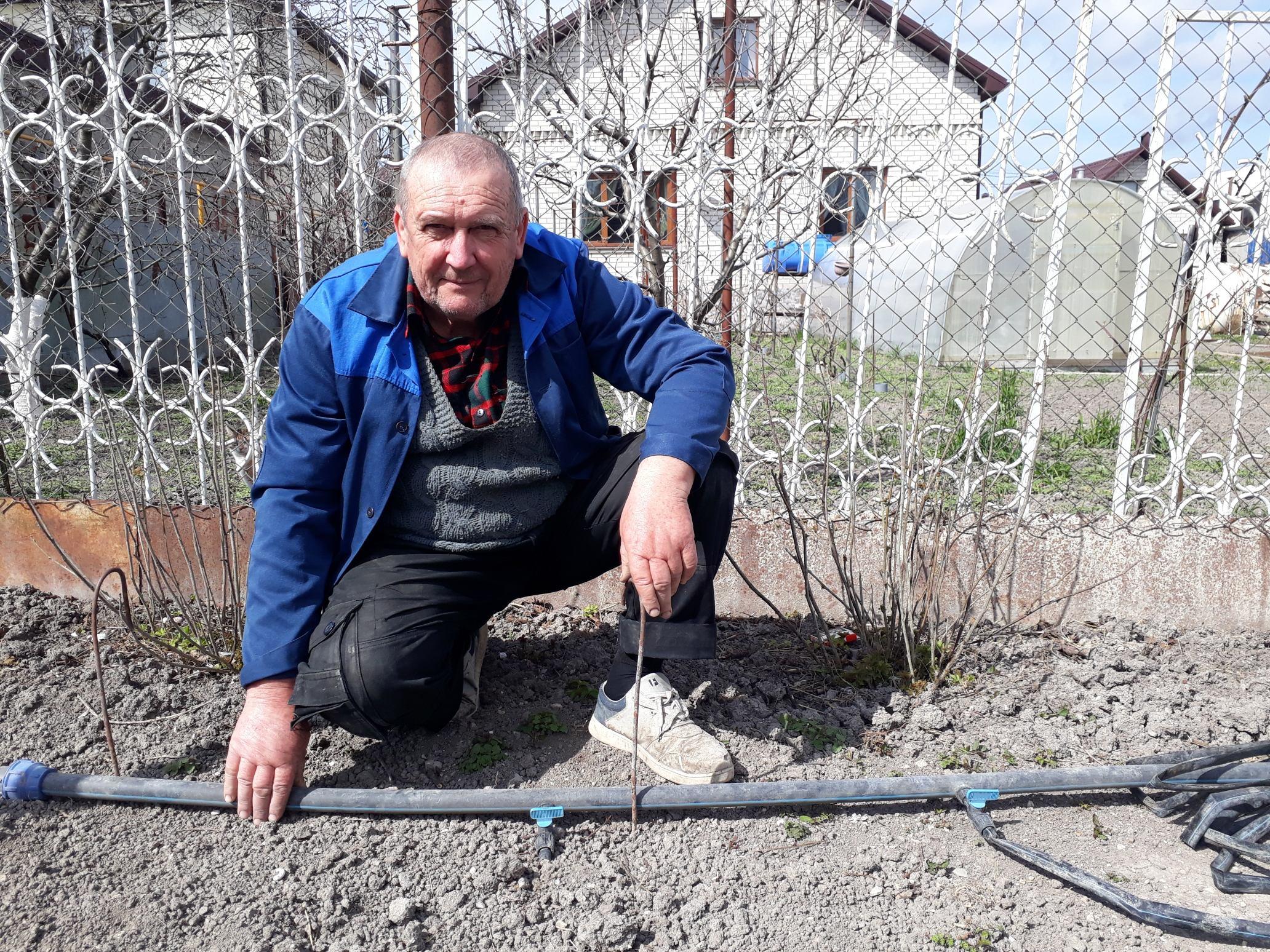 Новороссийские огородники начинают борьбу сзасушливым летом уже весной