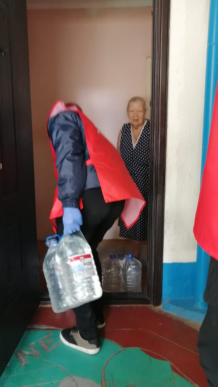 волонтеры Новороссийск