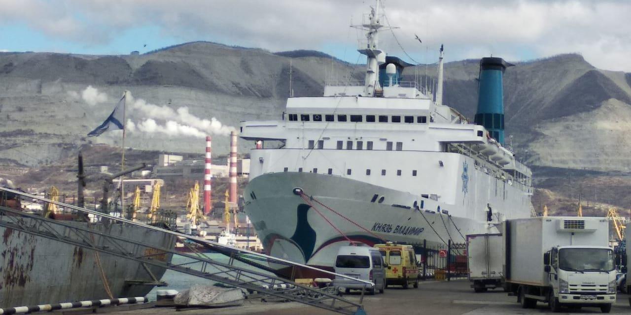 В Новороссийск впервые за навигацию-2020 зашел «Князь Владимир»