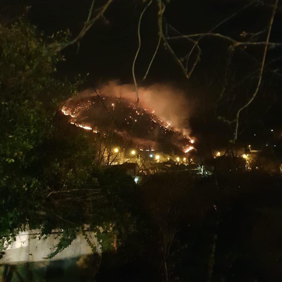 Глава региона озабочен ситуацией с пожарами
