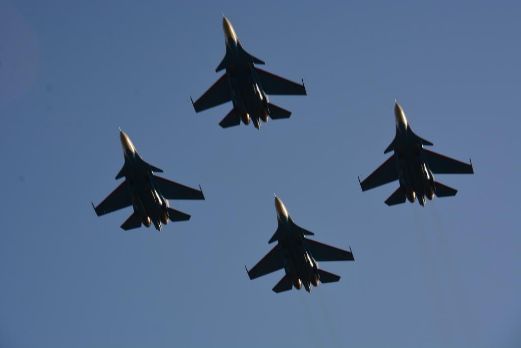 В небе над Новороссийском снова появятся российские асы