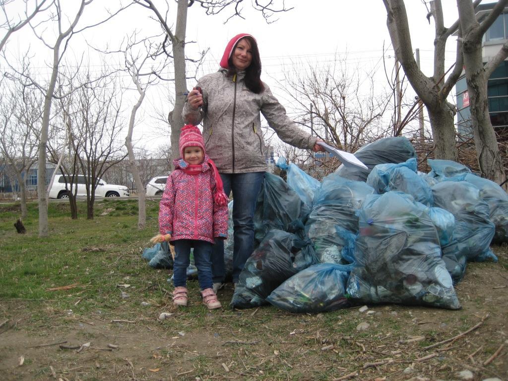 В Новороссийске памятникам природы устроили большую чистку
