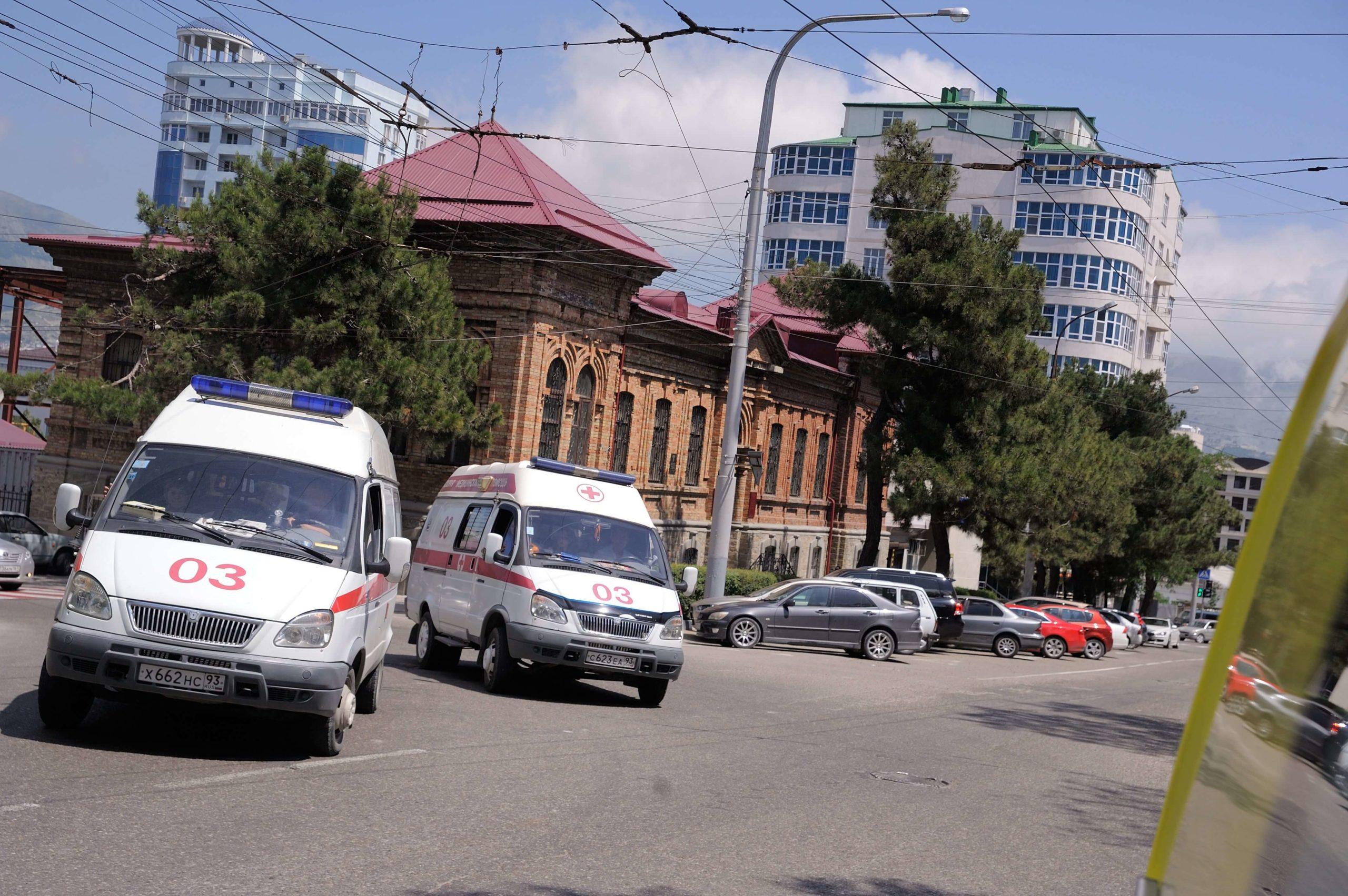 ВНовороссийске перекрыли пятую поликлинику ина«скорой» увезли пациента сподозрением накоронавирус