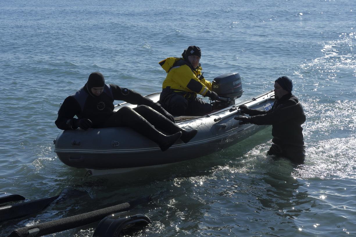 Летчик затонувшего под Новороссийском штурмовика спасся