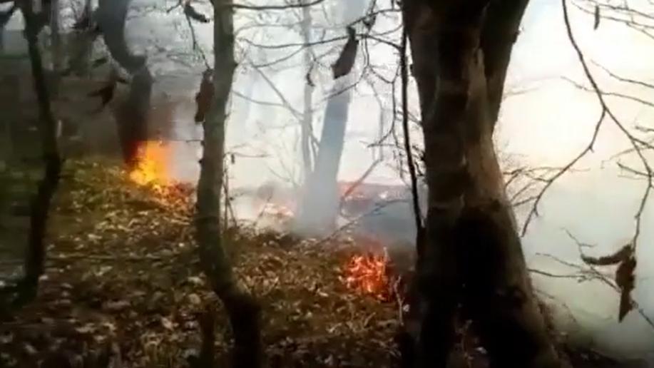 В Новороссийске снова высокий класс пожароопасности