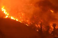 В пригороде Новороссийска снова пожар