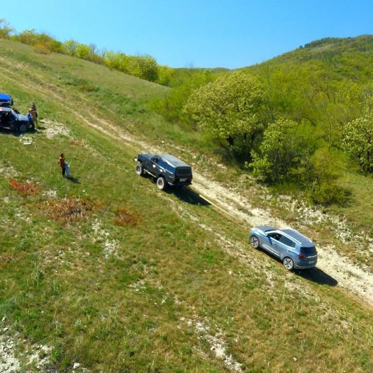 В Краснодарском крае есть только один законный маршрут для джипинга.