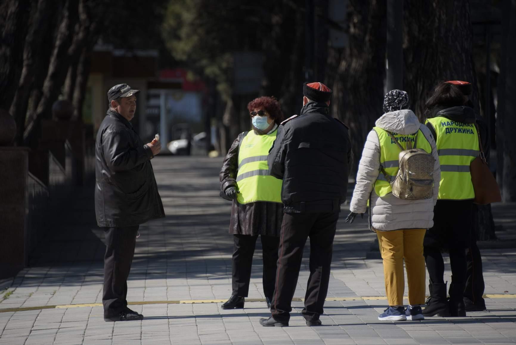 В Новороссийске оштрафовали шесть нарушителей карантина