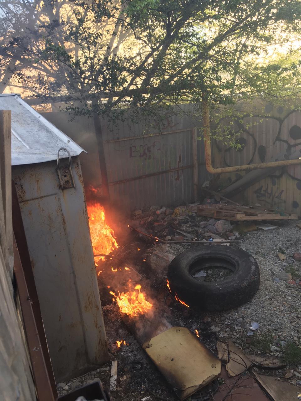 Новороссийские бомжи едва не устроили взрыв газа