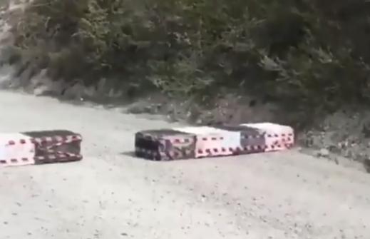 В Новороссийске перекрыли дорогу на Широкую Балку