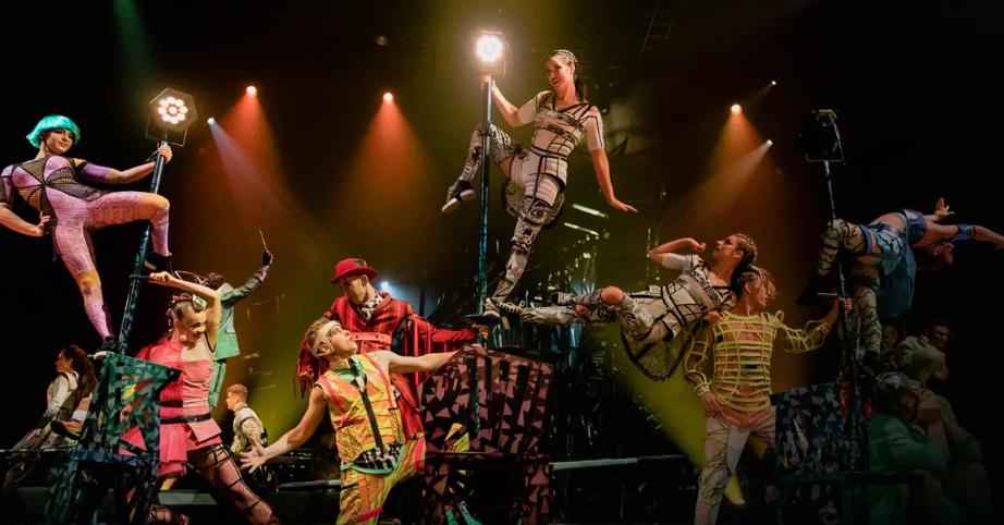 Для новороссийских ребят и не только сегодня выступит Цирк Du Soleil
