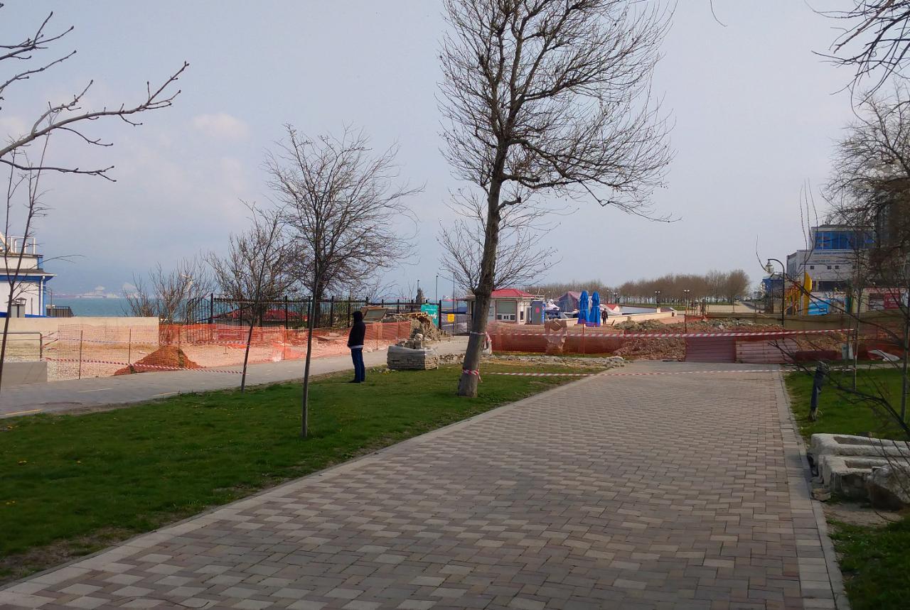 Карантин в Новороссийске. День первый
