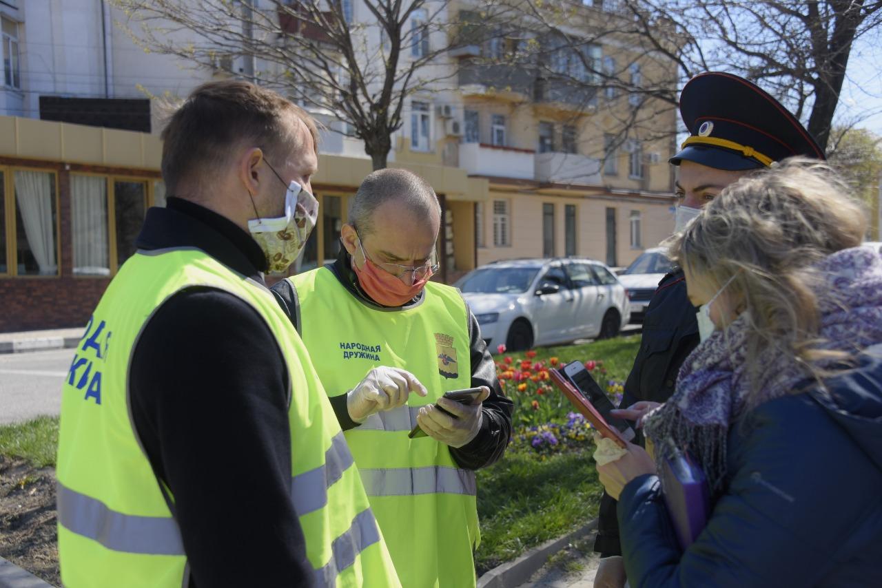 В Новороссийске оштрафовали 161 человека за нарушение карантина