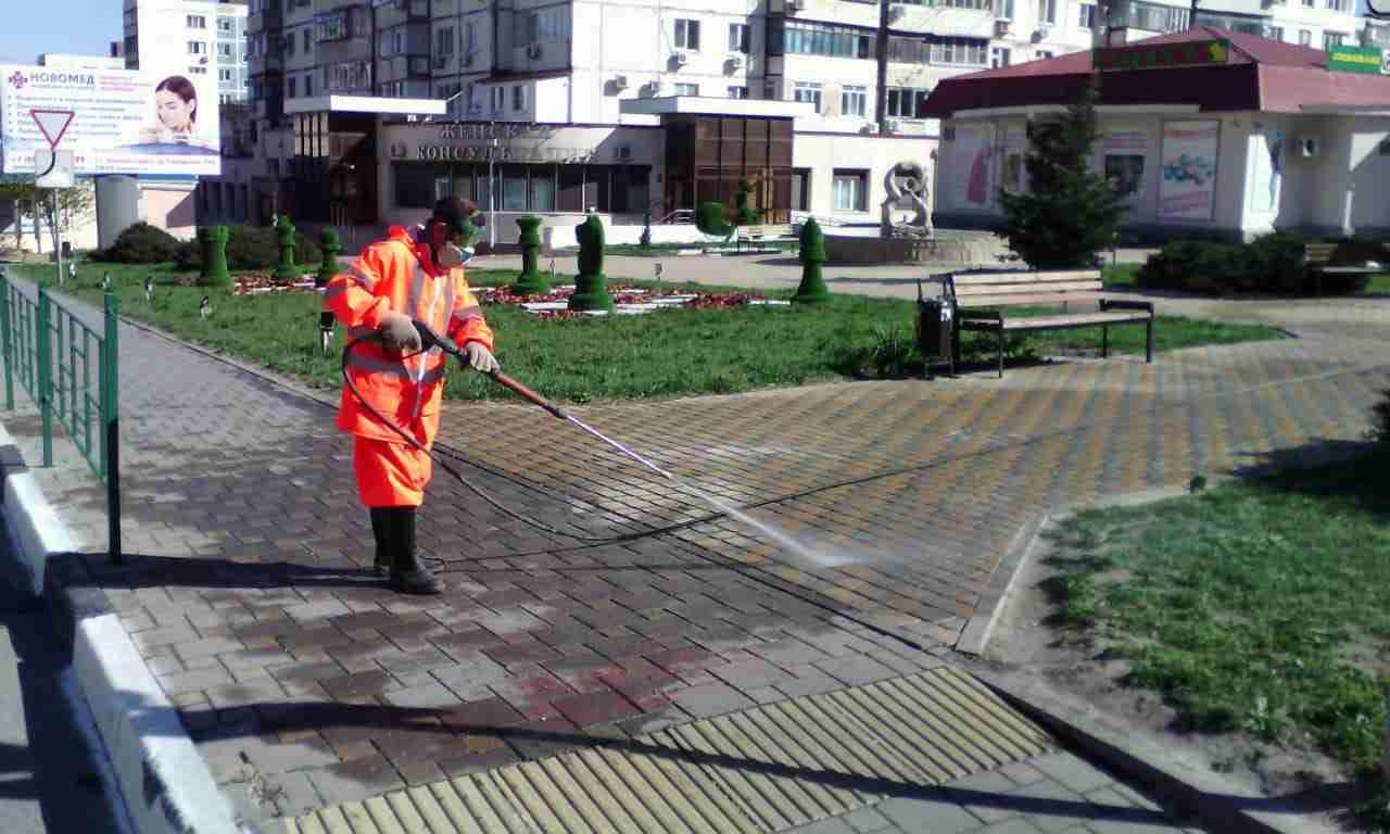 Стерильный Новороссийск: не умрет ли вся живность от ежедневной обработки?