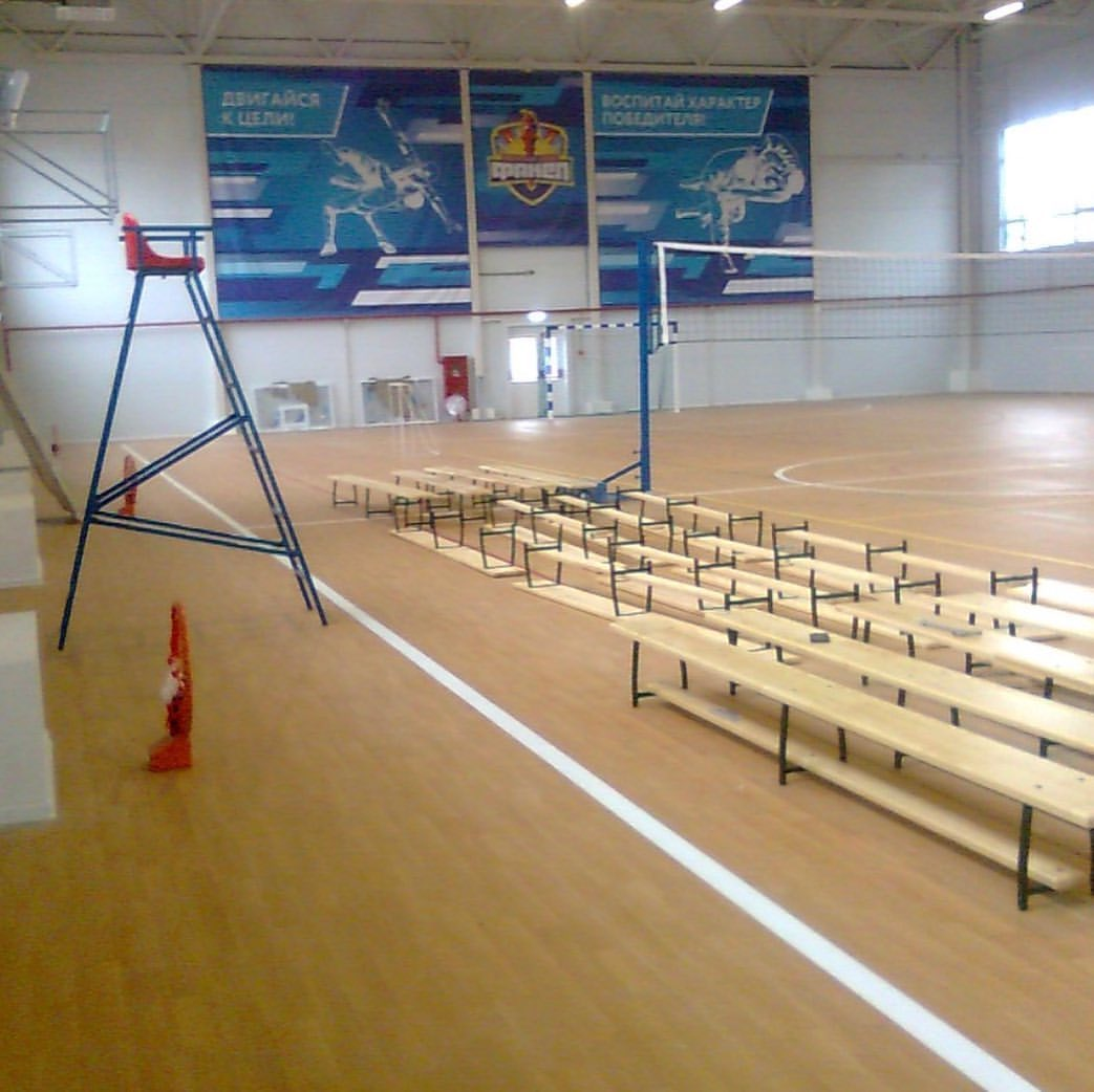 В поселке под Новороссийском скоро можно будет возобновить тренировки на стадионе и в новом спортивном комплексе