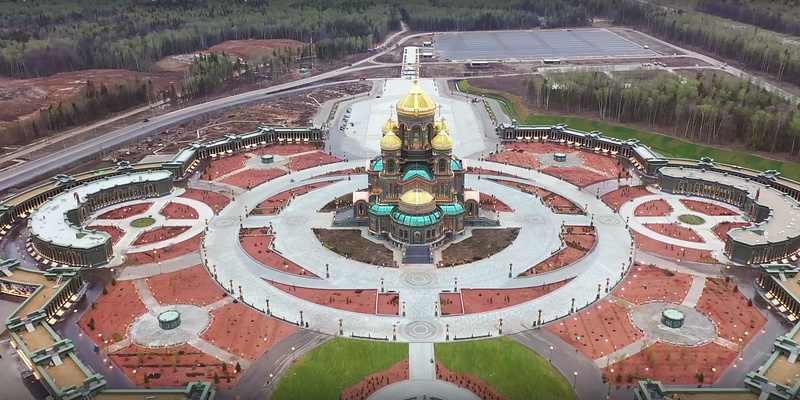 Главный храм Вооруженных сил достроен
