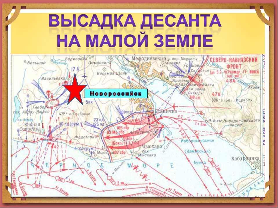 Говорящие названия на Малой Земле в Новороссийске получали и люди, и суда