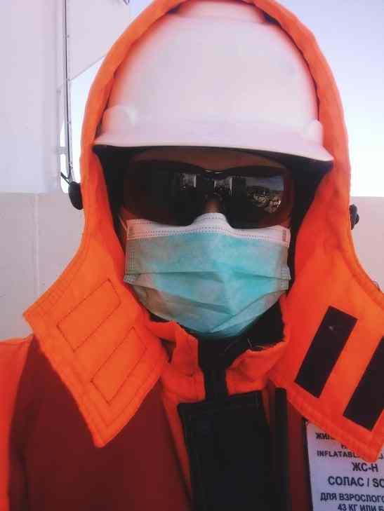 Российские моряки заразились коронавирусом  в Южной Корее